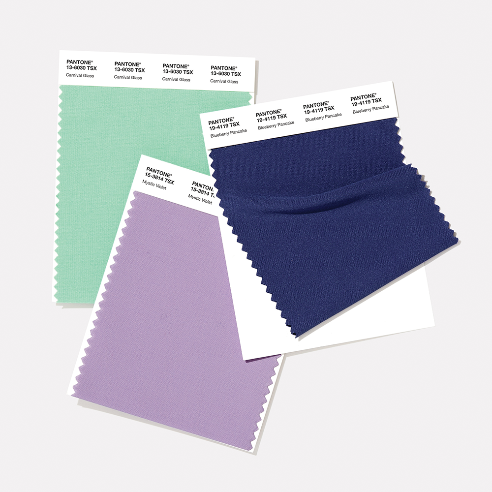 PANTONE Polyester Swatch Card
