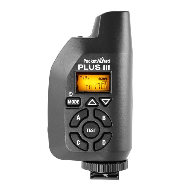 PocketWizard Plus IIIe Transceiver - Black