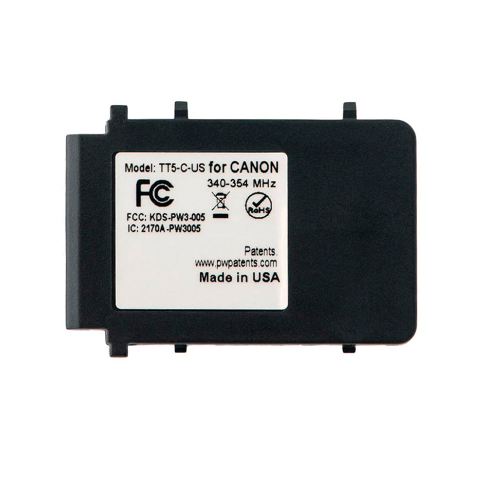 FlexTT5/FlexTT6 Canon/Nikon Battery Cover Plate