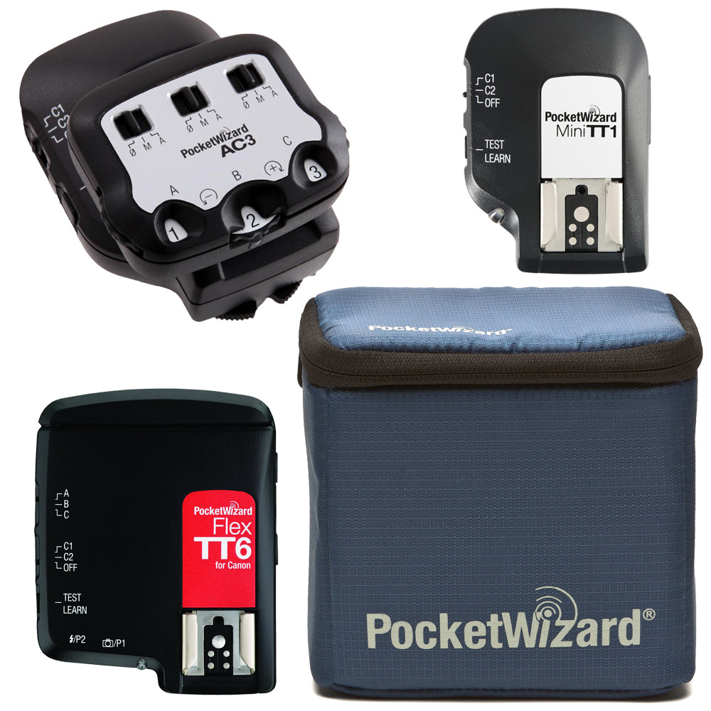 PocketWizard Flex TT6 Starter Kit for Canon