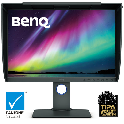 BenQ SW240 Pro 24 inch IPS Monitor with FREE Shading Hood