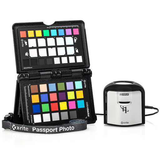 X-Rite i1 ColorChecker Photo Kit With FREE 1TB Portable Hard Drive