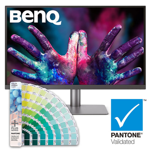 BenQ PD2720U Pro  27 Inch IPS Monitor with FREE Pantone Colorbridge Coated Guide