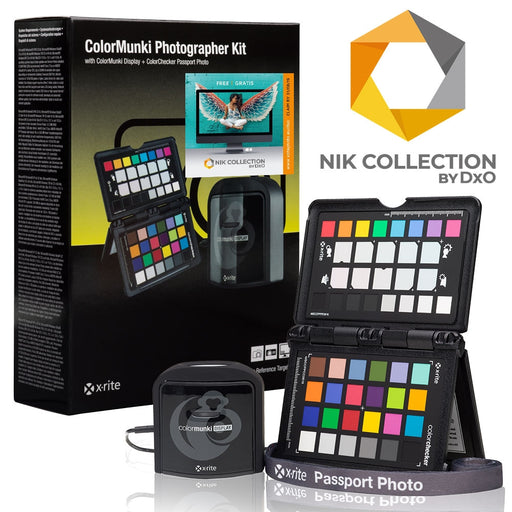 ColorMunki Photographer Kit with free DxO NIK Collection