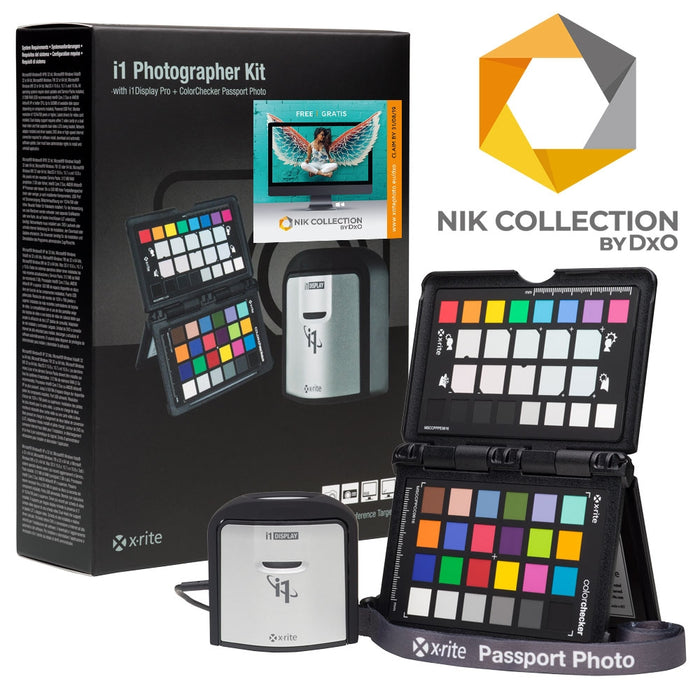 X-Rite i1Photographer Kit with free DxO NIK Collection