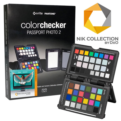 X-Rite ColorChecker Passport Photo 2 with free DxO NIK Collection
