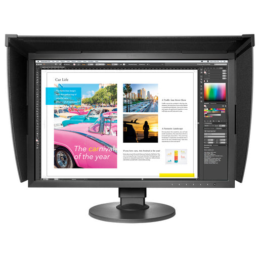 Eizo ColorEdge CG2420 24in IPS Monitor Front