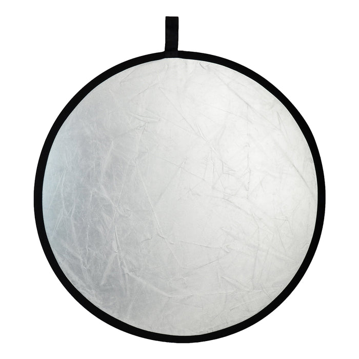 ExpoImaging 32in 2-in-1 Reflector - Super Soft Silver / Natural White