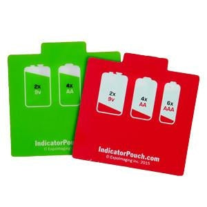 Indicator Battery Pouch V2 Red Green