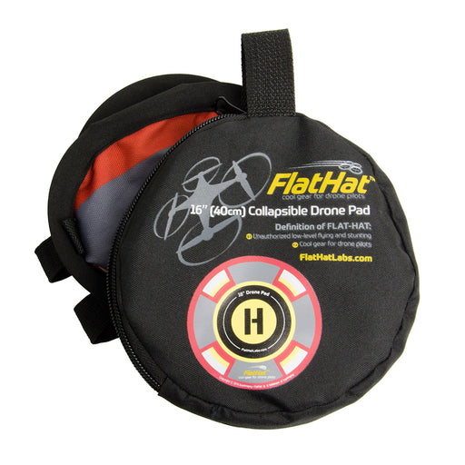 ExpoImaging FlatHat 16in (40cm) Drone Pad - Gold Red