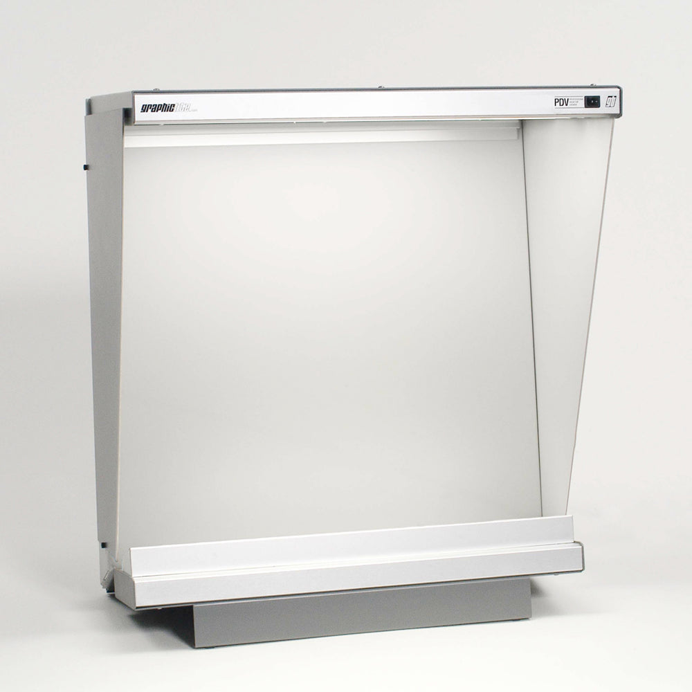"PDV-2020ex - Desktop 23.5"" x 25.3"" illumination with side walls and lower luminaire"
