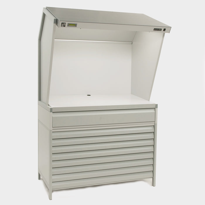 GTI CVX-3052/DS/FS/2F D50 and D65 Color Viewing Station - 74cm x 132cm inc 2 shallow draws