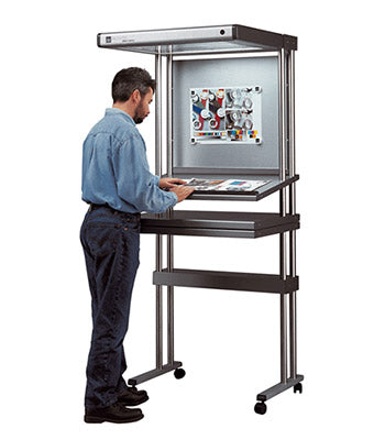 Just Normlicht Trolley stand for Proof Top Multi 5000