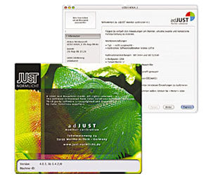 adJUST monitor calibration software - first user license