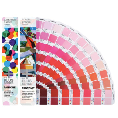 PANTONE Plus Extended Gamut Guide + Color Bridge Coated Guide