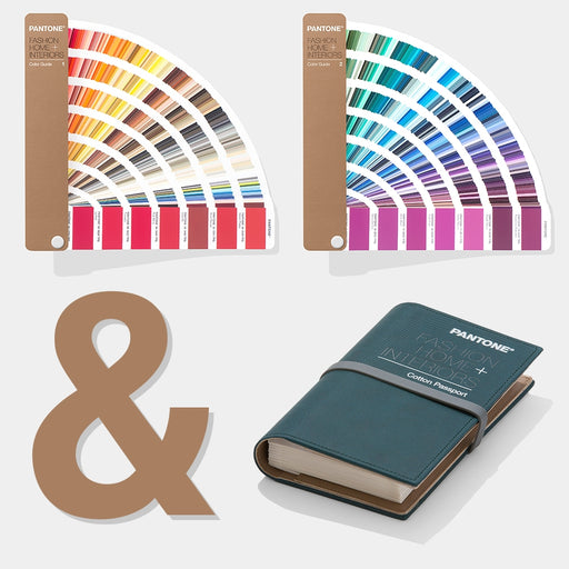 PANTONE FHI Cotton Passport and FHI Colour Guide BUNDLE