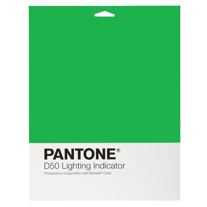 PANTONE Lighting Indicator Stickers D50