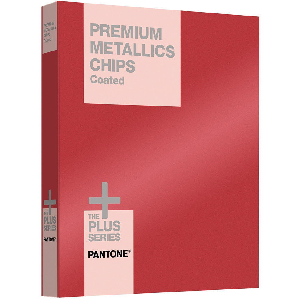 PANTONE PLUS Premium Metallics Chips Coated