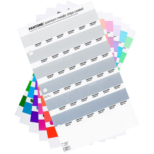 PANTONE PLUS Premium Metallic Chips replacement pages coated (1 pk)