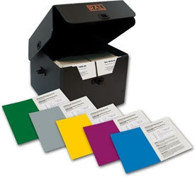 RAL 841 GL  - Special box 188 cards - Gloss