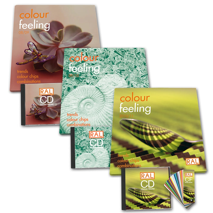 RAL Colour feeling trend collection