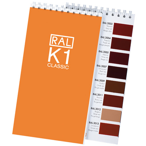 RAL K1 - Booklet