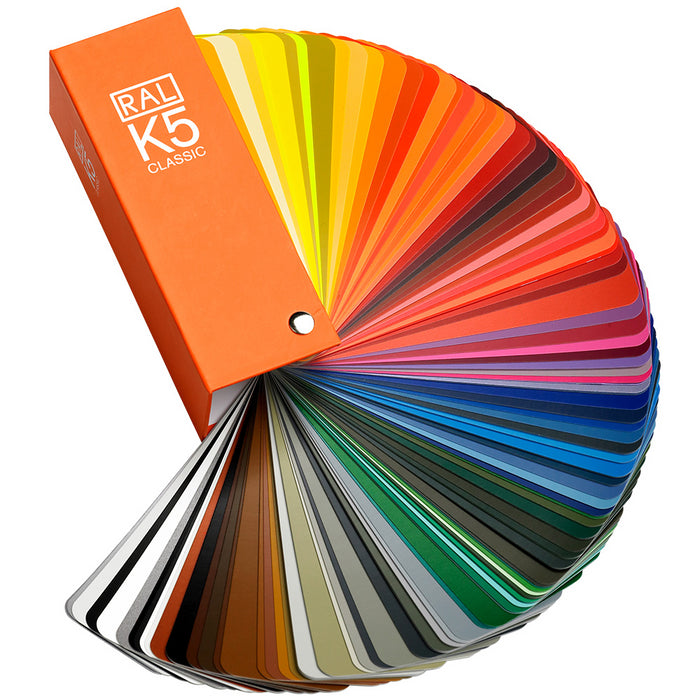 Ral k5 213 classic colours fan deck semi matt