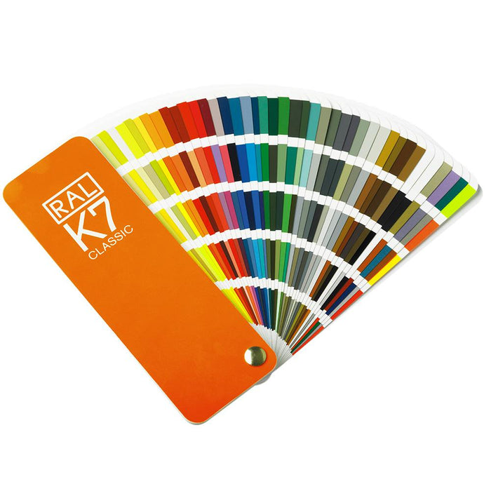 Ral k7 213 classic colours fan deck