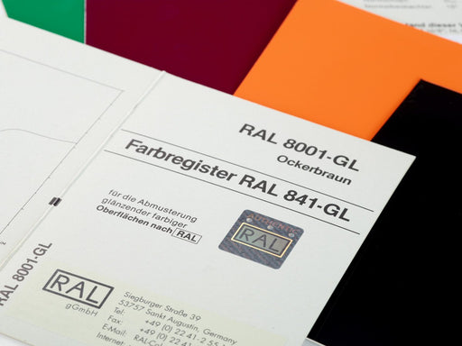 RAL 841 GL – Single-chip in high-gloss