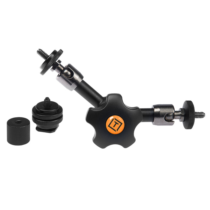 Tether Tools Rock Solid Articulating Arm, with Hot Shoe 1/4-20 Adapter