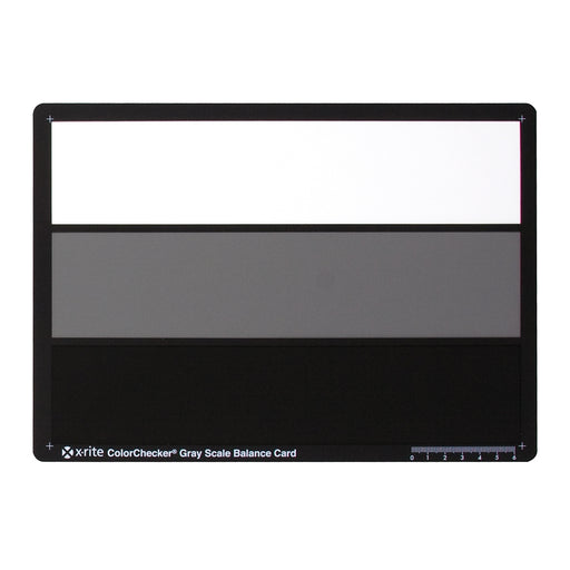 X-Rite ColorChecker Grey Scale Balance Card (3 step)