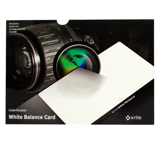 X-Rite ColorChecker White Balance Card
