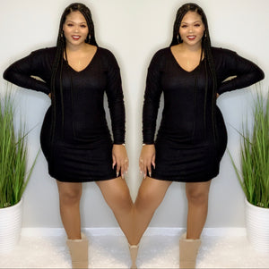 Comfy Dress (Black)