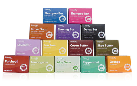 Natural Handmade British Soap Range