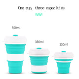 550ml Folding Silicone Travel Cup