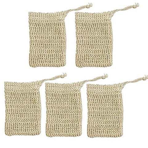 Exfoliating Natural Sisal Soap Pouch