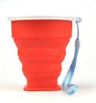 Folding Travel Silicone Cup 300ML