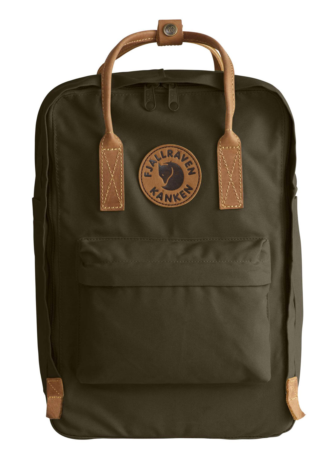 "Fjallraven 15"" Kanken No. 2 Laptop Backpack Dark Olive"