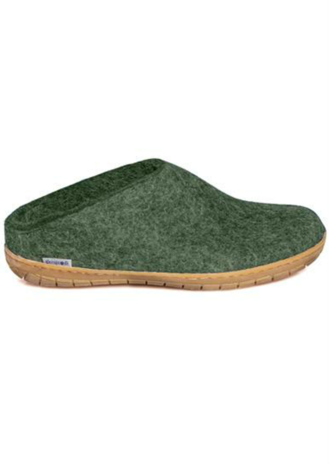Glerups Unisex Natural Rubber Open Heel Slipper