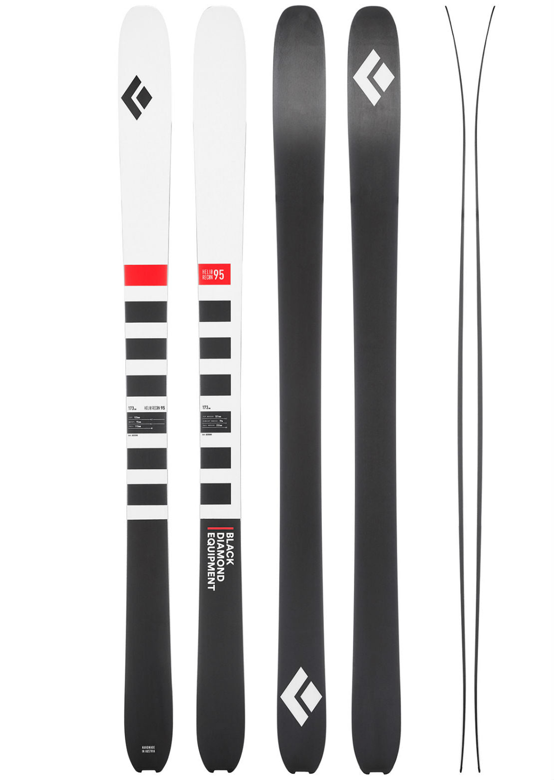 Black Diamond Helio Recon 95 Skis - 173 cm