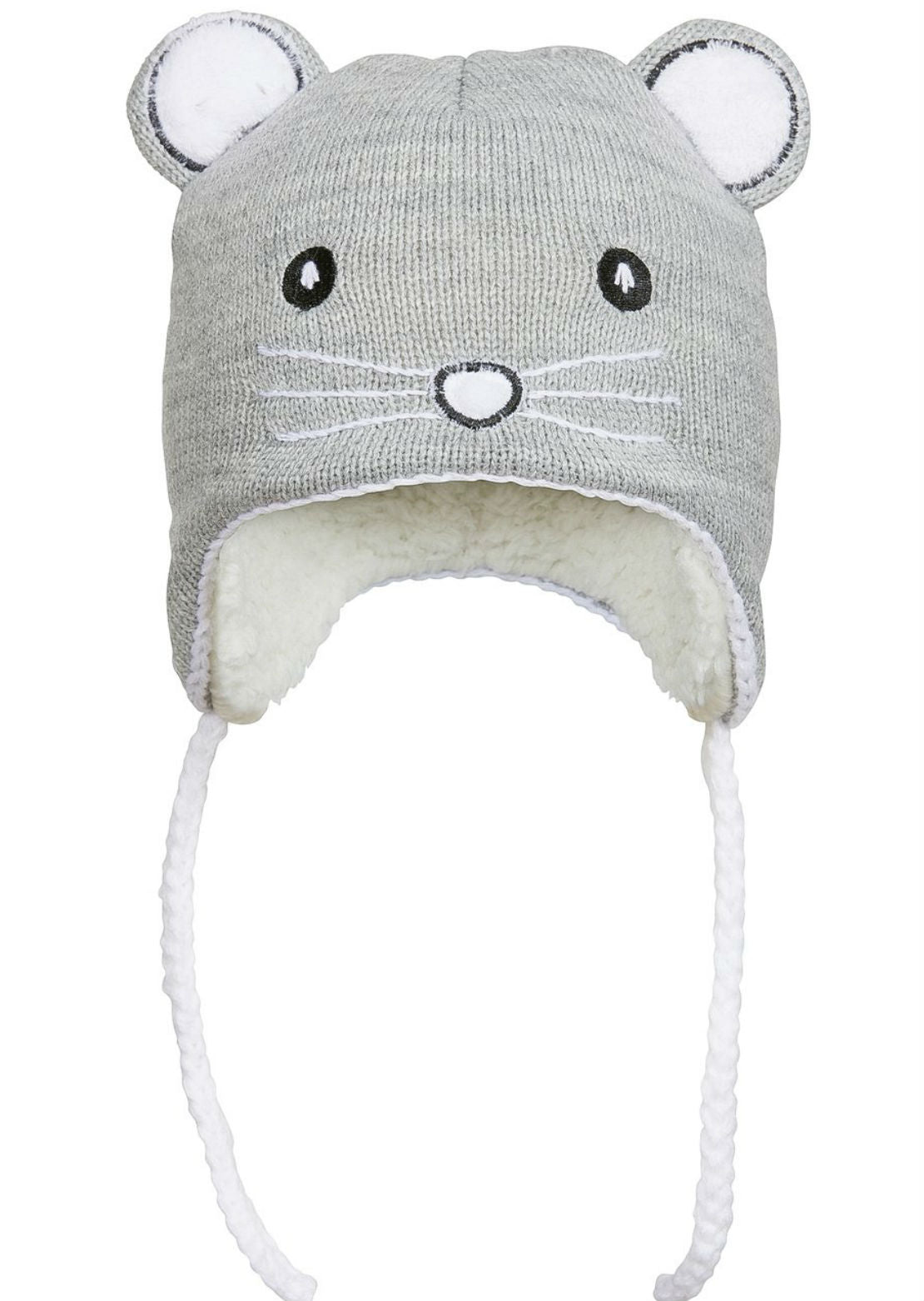 Kombi Junior Infant Sherpa Animal Beanie
