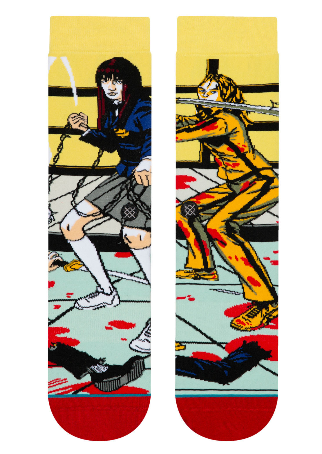 Stance X Quentin Tarantino Men's The Bride And Gogo Socks