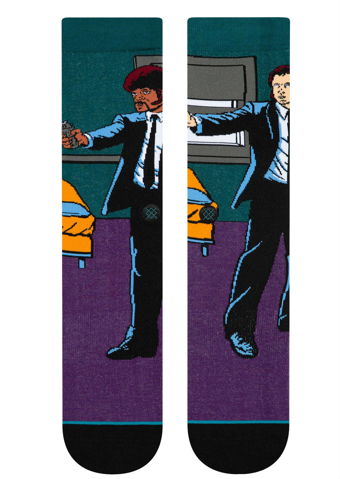Stance X Quentin Tarantino Men's Vincent And Jules Socks