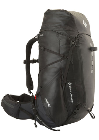 Black Diamond Element 60 L Backpack - Front