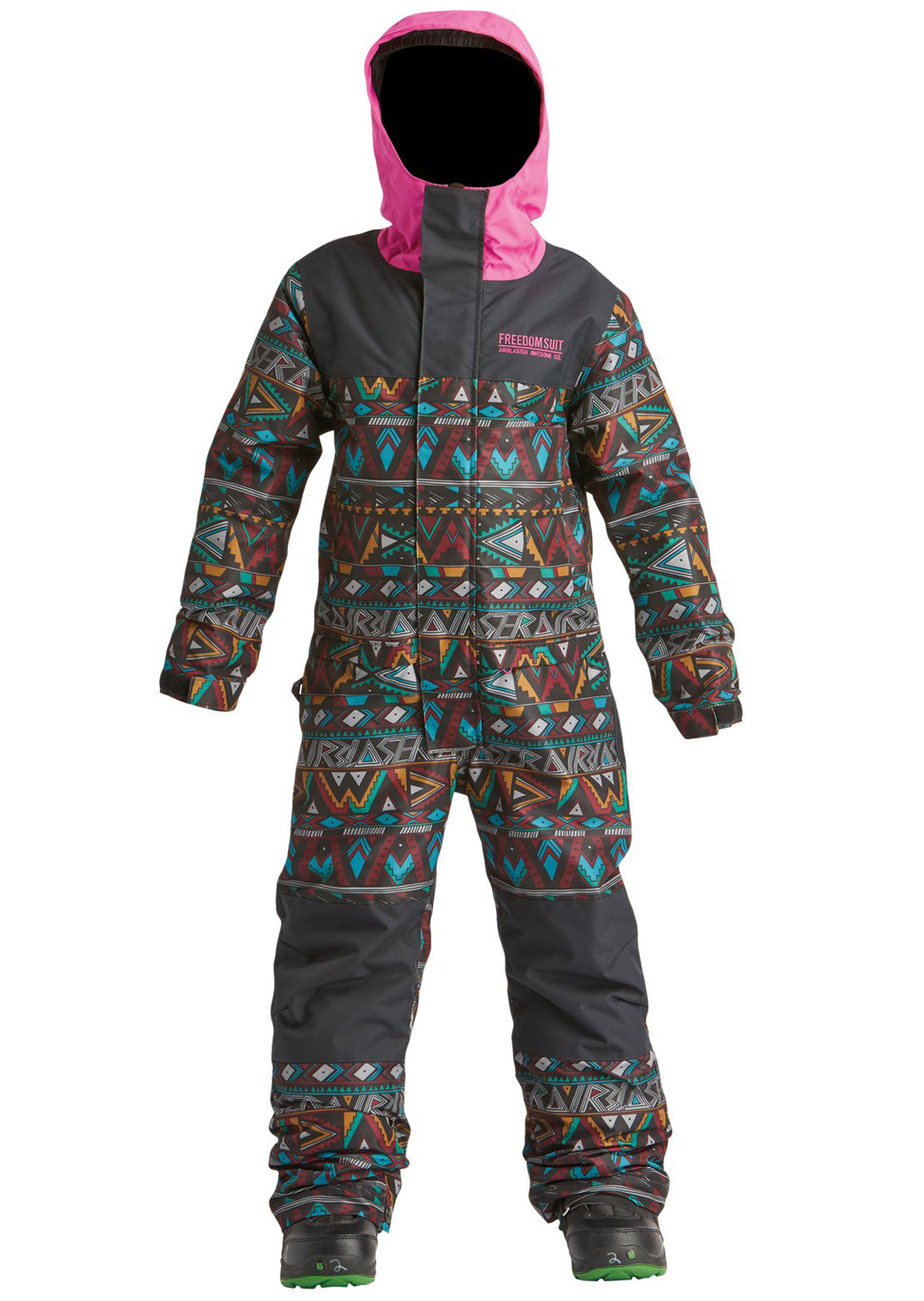Airblaster Junior Youth Freedom Suit Wild Tribe