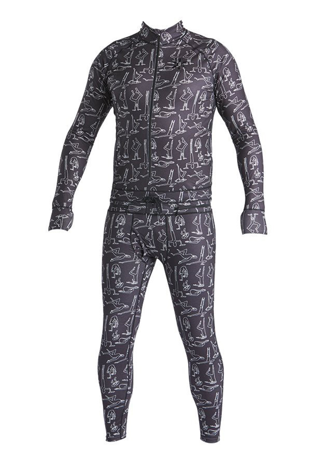 Airblaster Men's Hoodless Ninja Suit First Layer TP Yogis