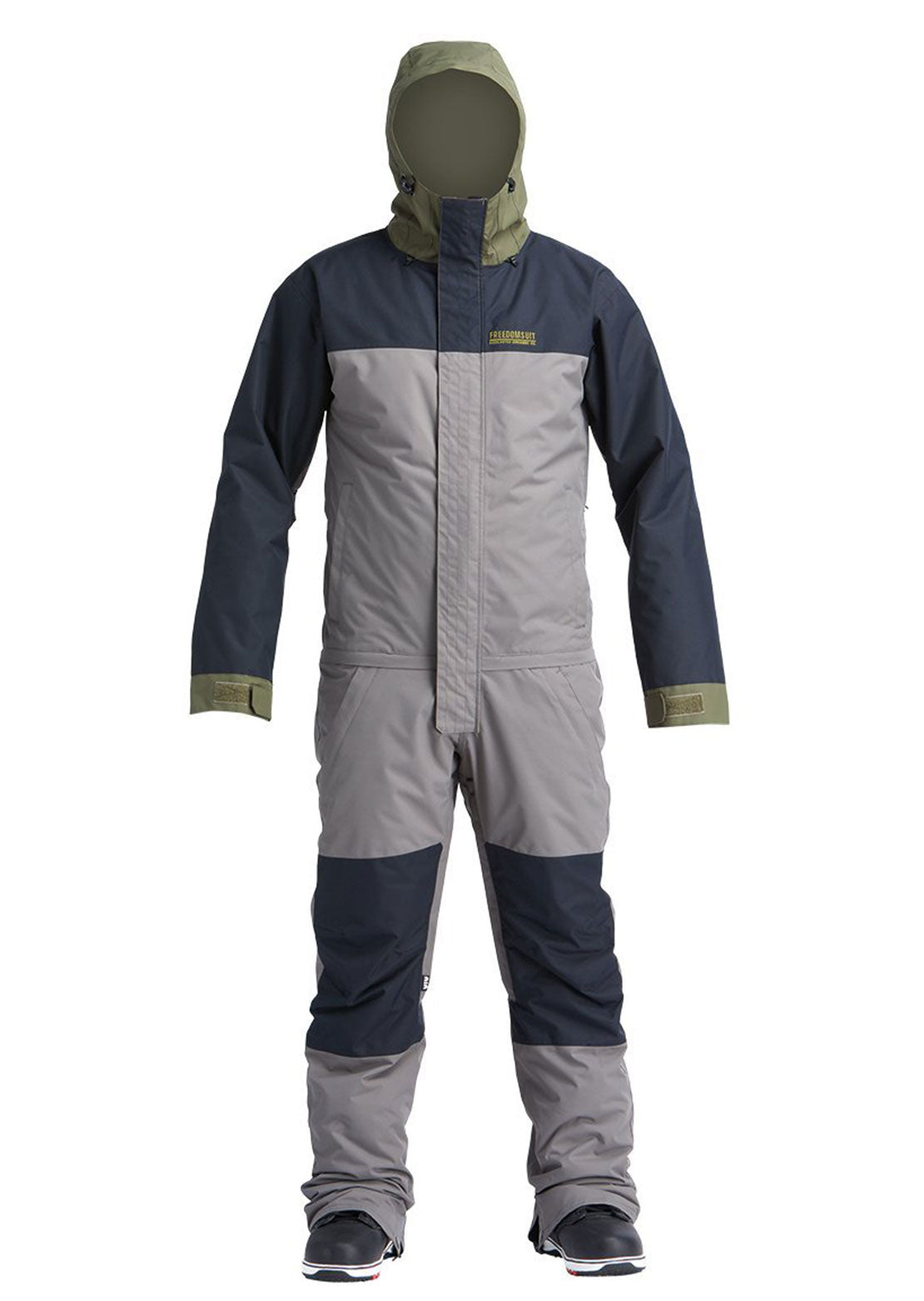 Airblaster Men's Insulated Freedom Suit Pewter Olive