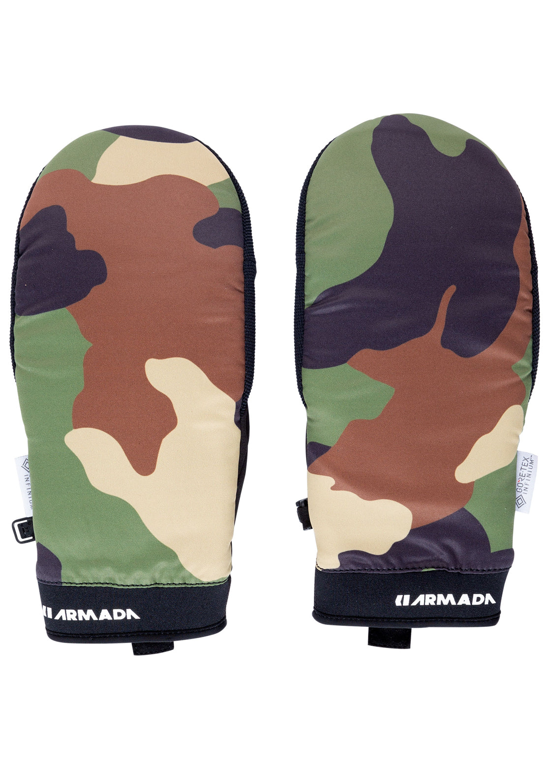 Armada Men's Carmel Windstopper Mitts Camo