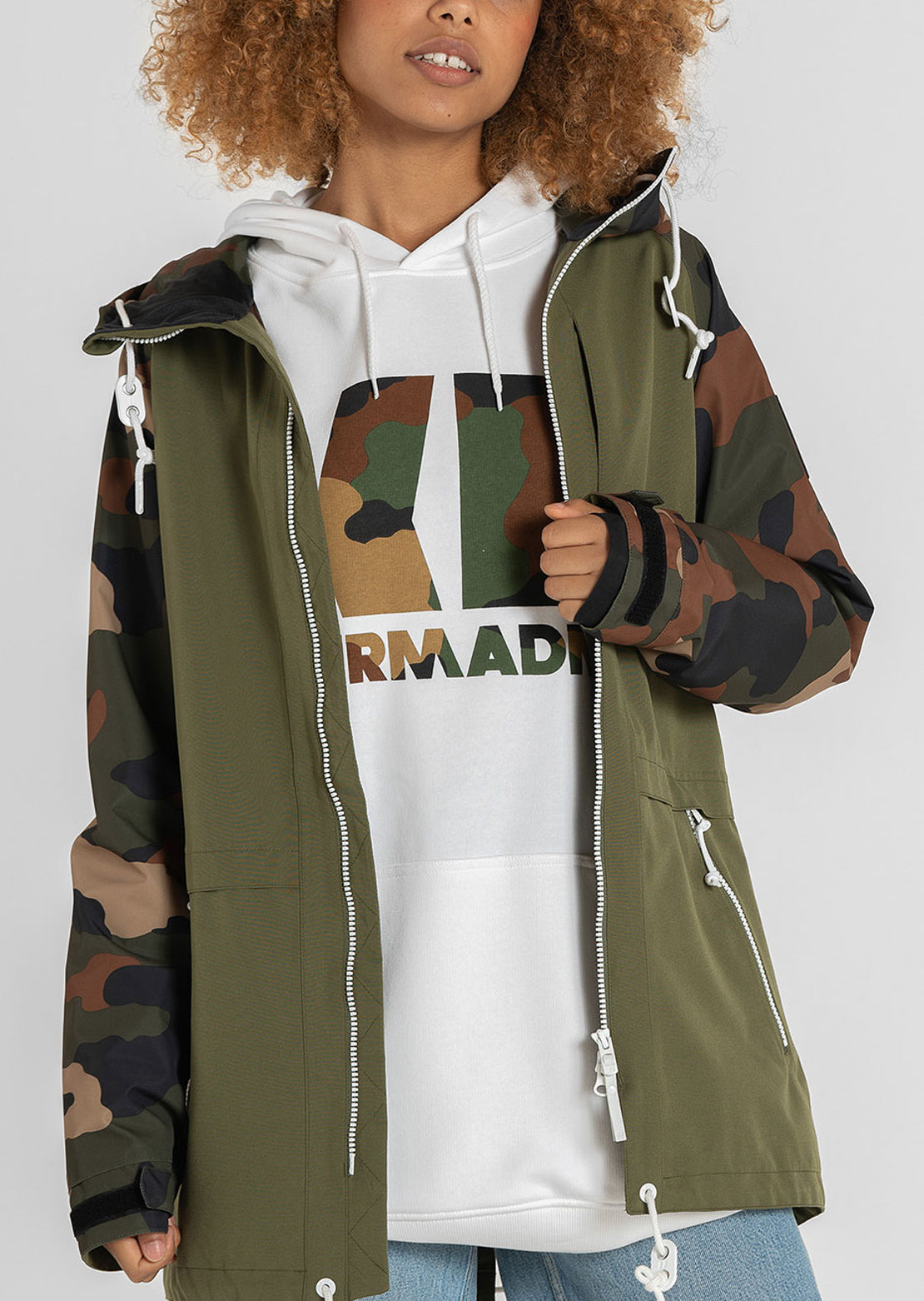 Armada Men's Icon Hoodie White