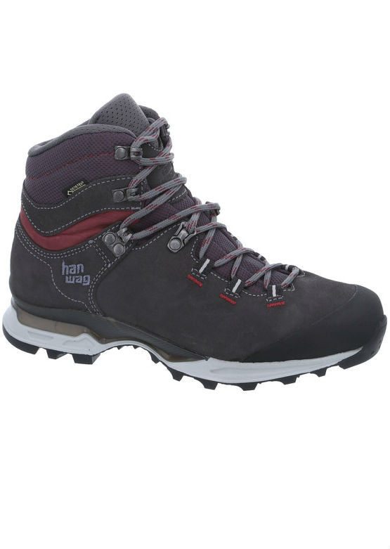 Hanwag Women's Tatra Light Lady GTX - Asphalt/Dark Garnet